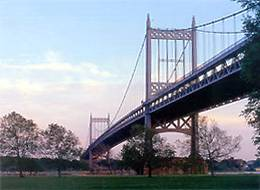 Photo of the Triborough Bridge in Astoria