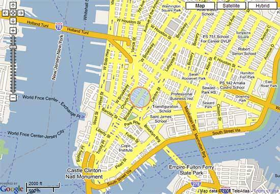 New York Habitat Maps Google Maps New York Habitat Blog – Street Map Nyc