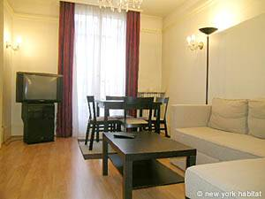one-bedroom apartment near the Arc de Triumph in Paris France 2