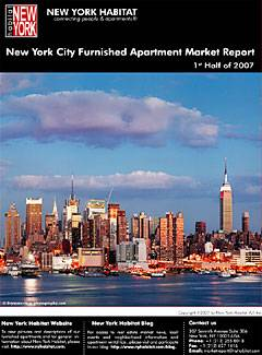 New York Furnished Apartment Market Report - First Half 2007