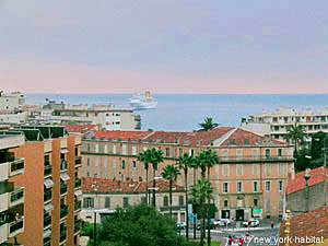 View of Cannes, France Harbor from an apartment