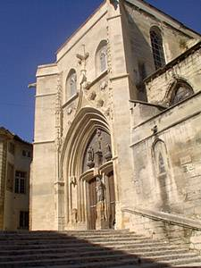 Church in Avignon, France