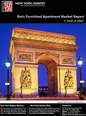 Paris Furnished Apartment Market Report