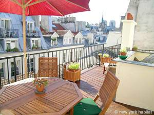 1-bedroom Vacation Rental in Ile-Saint-Louis, Paris (PA_2947)