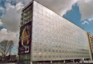 Picture of the Institut du Monde Arabe in Paris