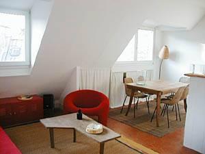Paris Accommodation 1-bedroom apartment (pa-1882)
