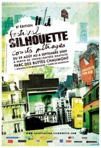 Official poster for Silhouette Festival  in Paris