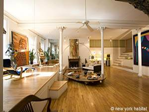 New York Apartment: 3 bedroom loft in TriBeCa (NY-5278) photo