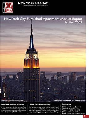 New York Furnished Apartment Market Report 1st half 2009