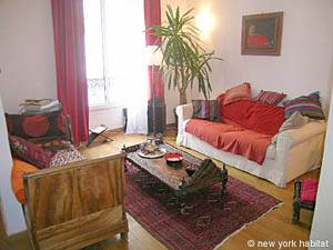 Paris Apartment 1-bedroom in Montparnasse (PA-3581)