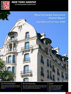 The 2009 Paris Furnished Apartment Market Report