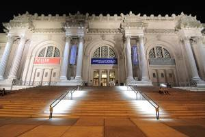 The Metropolitan Museum of Art on New York's Museum Mile