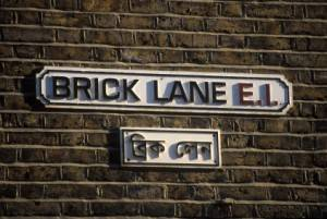 Photo of Brick Lane in London