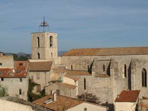 Church of Saint-Paul in Hyeres France