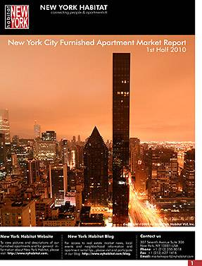 2010 1st half New York Furnished Apartment Market Report