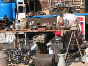 Photo of a New York Flea Market