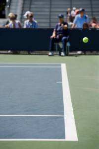 Tennis at the U.S. Open in New York