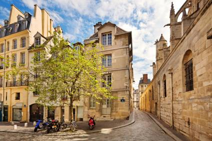 Photo of the Streets of Montmartre