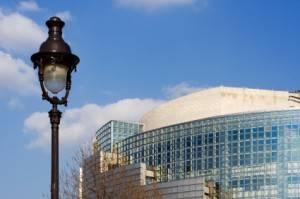 The Bastille Opera in Paris