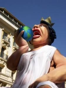 Carnival in Nice, France