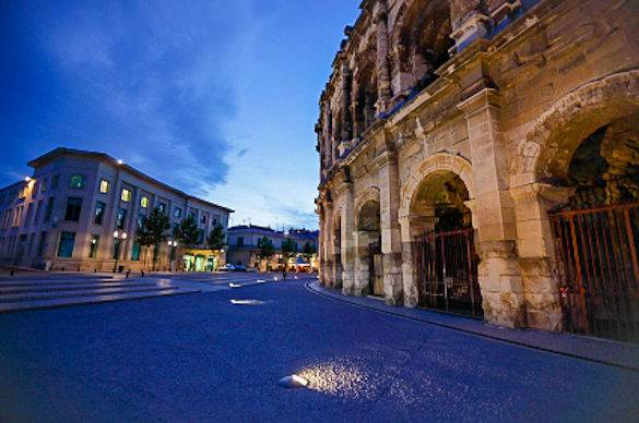 Nimes, in Provence, France