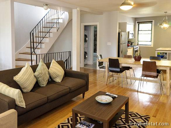 Image of the 3-bedroom vacation rental apartment in Brooklyn