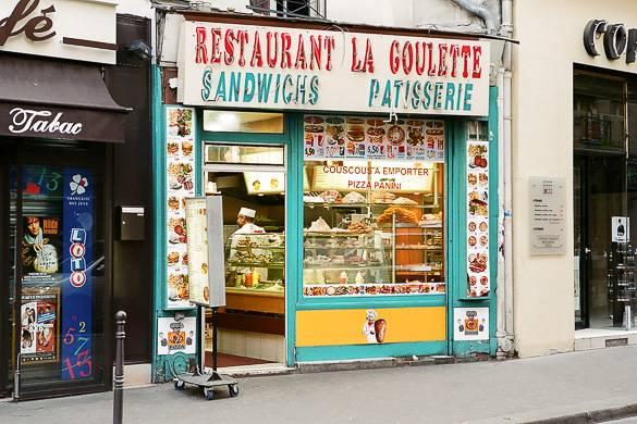 Image of a local restaurant in Paris