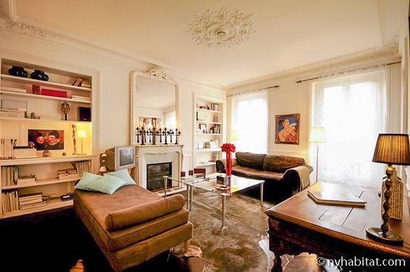 Picture of a Paris vacation rental apartment (PA-3496)