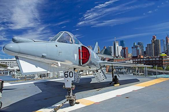 Picture of the Intrepid Sea, Air & Space Museum