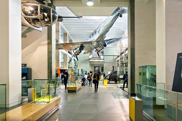Image of the Science Museum in London
