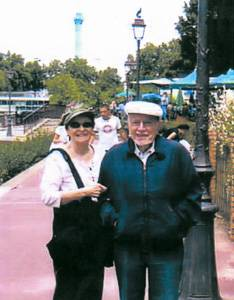 Picture of Mr. Jacques B. and his wife taken in Paris