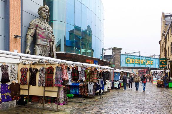 Image of London's Camden Lock Market