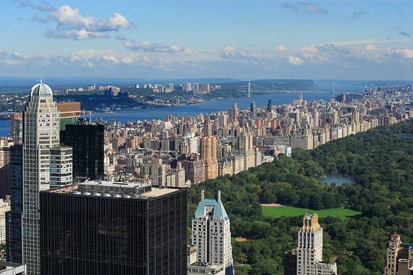 Image of the Upper West Side and Central Park, Manhattan