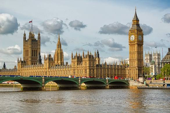 Picture of Westminster's Big Ben & Houses of Parliament in London