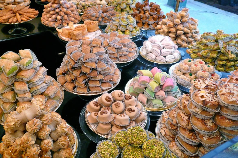 Picture of the pastry shop La Bague de Kenza in Paris