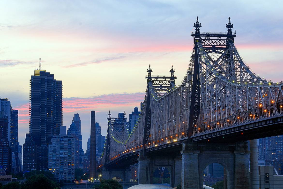 Image of New York City's Queensboro Bridge