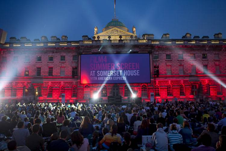 Image of the Film 4 Summer screening.