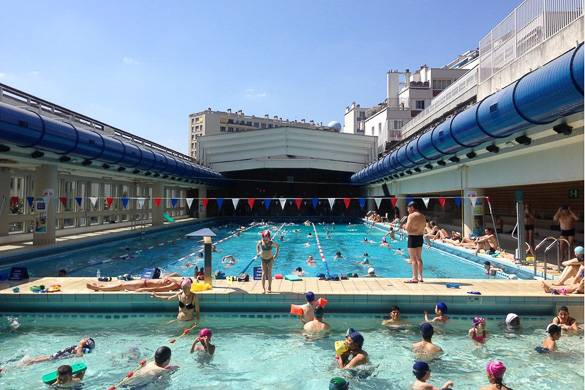 Best places to swim in paris new york habitat blog for Piscine new york