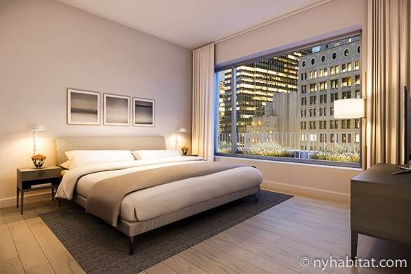 Image of furnished one bedroom apartment in the Financial District, NY-16792