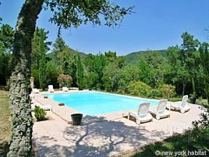 Ferienwohnung mit einem Schlafzimmer in Gassin an der Französischen Riviera (PR-823)