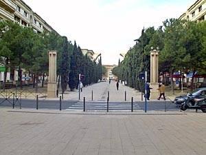 Montpeillier, Frankreichs (Provence)