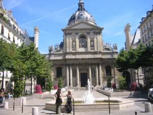 Die Sorbonne in Paris -Quartier Latin