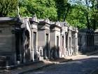 Foto vom Pariser Friedhof Père-Lachaise