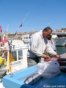 Marseilles, Sudenfrankreich, Fischmarkt