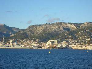 Foto des Mont Faron in Toulon