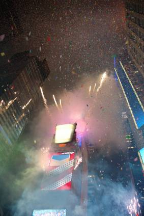 Silvester am Times Square (New York City)