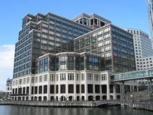 Canary Wharf bietet einen atemberaubenden Blick über die Stadt.