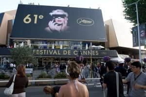 Ein Bild der Filmfestspiele in Cannes, Südfrankreich.