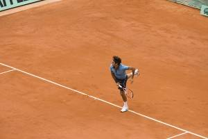 Tennis bei den French Open