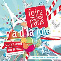 Das Logo der Foire de Paris